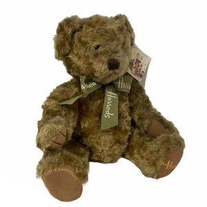 "Harrods 100 years teddy anniversary 16"" bear toy"